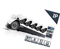 LaView 6 1080P 3MP IP Camera Security System, 8 Channel