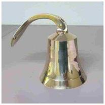 6 Polished Brass Ship Bell - Nautical Bells