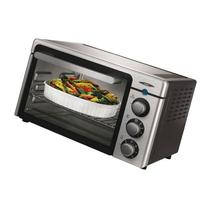 Oster 6085 Channel 6-Slice Toaster Oven, Brushed Stainless