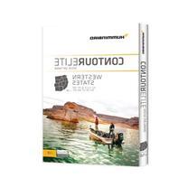 Humminbird 6000121  Contour Elite Mapping Software - CA/NV/