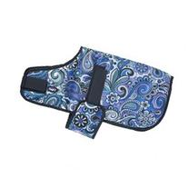 Tough-1 600D Dog Blanket In Paisley Shimmer Print Small