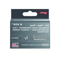 Arrow Fastener 608 Wide Crown Swingline Style Heavy Duty 1/2