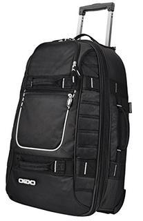 OGIO Pull-Through Travel Rolling Suitcase Luggage - Black