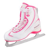 Riedell 615 SS Girls Figure Ice Skates - Y10.0/White-Pink