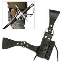 BladesUSA PK-6182 Universal Leather Sword Frog 8-Inch