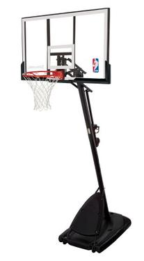 Spalding 66291 Pro Slam Portable Basketball System with 54""