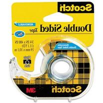 667 Double-Sided Removable Office Tape and Dispenser, 3/4