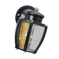 Westinghouse 6696100 One-Light Exterior Wall Lantern, Matte