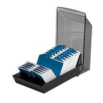 Rolodex 67011 Rolodex Covered Business Card File, 500 2-1/