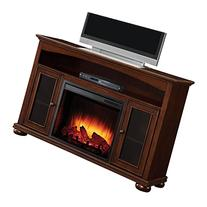Pleasant Hearth 238-11-68 Everest Media Fireplace in Cherry