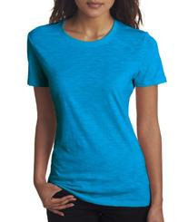 Next Level Apparel 6810 Lady The Slub Crew Neck Tee Shirt -