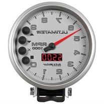 Auto Meter 6882 Ultimate Plus Playback Tachometer; 5 in.;