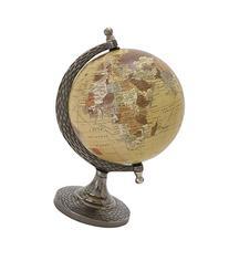 "Elegant And Stunning Metal Pvc Globe 7""W 10""H"