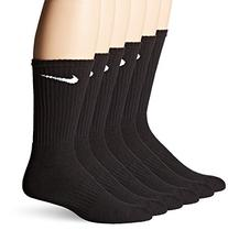Nike SX4441 Band Cotton Crrew - 6 Pack - Black Large