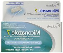 Miconazole 7 Day Vaginal Suppositories 100 mg - 7 ea