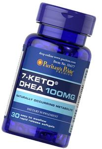 Puritan's Pride 7-Keto DHEA 100 mg-30 Softgels