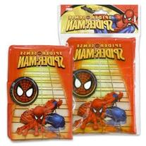 Spiderman 70 Pages PVC with Velcro Tab Journal Notebook