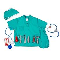 Dress Up America 703 Surgeon Role Play Dress Up Set - Ages 3