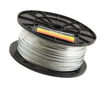 Forney 70446 Wire Rope, Galvanized Aircraft Cable, 500-Feet-