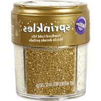Wilton 710-1260 Gold Pearlized Sprinkles Mix