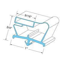 Beverage Air 712-012D Series Magnetic Door Gaskets for