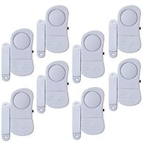 Stalwart 72-852075 8 Piece Mini Window Security System Alarm