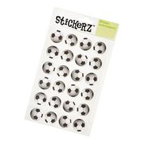 72 Soccer Balls Stickers