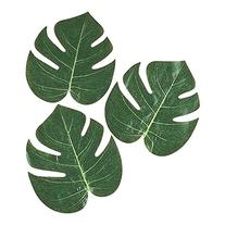 72 LARGE NATURAL TROPICAL PALM LEAVES Luau Wedding Decorations