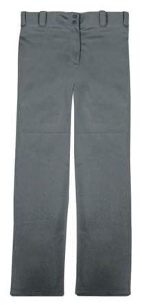 "Badger ""Big League"" Adult Baseball Pants - Graphite - S"