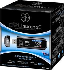 Bayer 7393 Contour Usb Blood Glucose Monitoring System,
