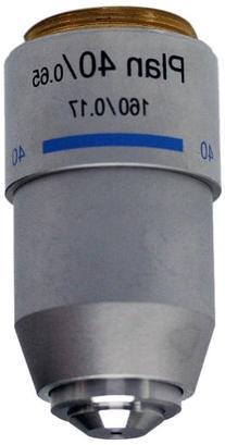 National Optical 740-160P 40XR DIN Plan Achromat Objective