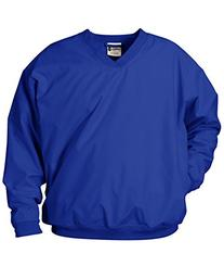 7618 Badger Microfiber Windshirt - Royal - X-Small