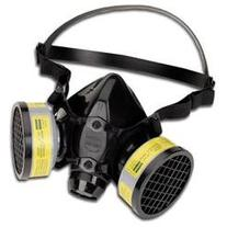 North Safety 7700 Series Half-Face Mask Respirator, Medium