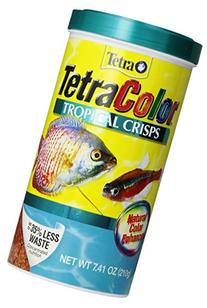 Tetra 77199 TetraColor Tropical Crisps, 7.41-Ounce, 1-Liter