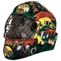 Franklin Sports 7784F33 NHL Mini Goalie Mask,Minnesota Wild