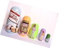 Cheech and Chong Up in Smoke '78 Movie Nesting Dolls Toys