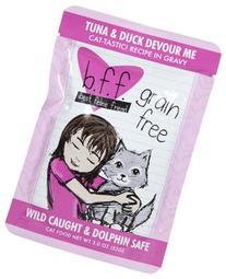 WERUVA 784225 12-Pack Best Feline Friend Tuna/Duck Devour Me