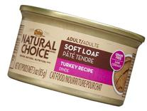 NUTRO 791064 24-Pack Natural Choice Adult Cat Soft Loaf