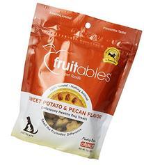 8 Pack - Fruitables Sweet Potato & Pecan Crunchy Dog Treats