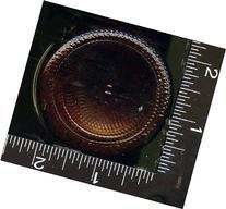 8 oz Dark Amber Apothecary Glass Bottle NEW