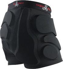Triple 8 Roller Derby Bumsaver Medium Black Hip Pads