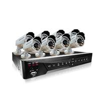LaView 8 Camera Security System, D1 RealTime 16 Channel DVR