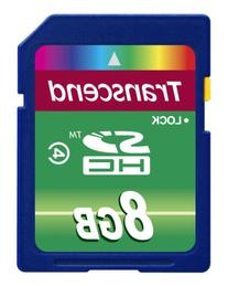 Transcend 8 GB High Speed SDHC Class 4 Flash Memory Card