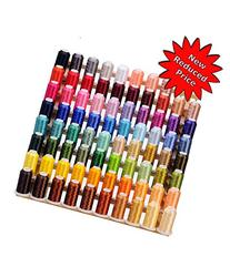 80 Cones  of Polyester Embroidery Threads for Janome,