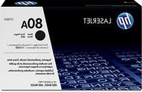 HP 80 Original Laser Jet Toner Cartridge, Black - 2,700