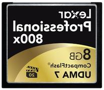 Lexar Professional 800x 8GB CompactFlash Memory Card
