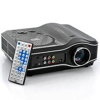 LED Projector With DVD Player - 800x600,30 Lumens,100:1
