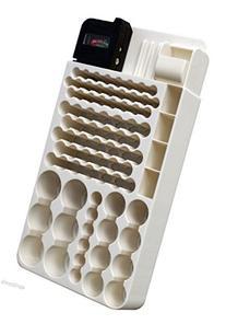 82 Battery Organizer & Tester Storage Container Holder Case