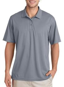 Ultraclub 8210 Mens Cool & Dry Mesh Pique Polo - Silver -