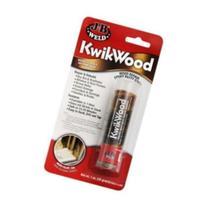 J B Weld 8257 Epoxy Putty, Kwikwood, Sets In 15 To 25